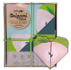 Origami Notepaper Set : Apple - toys & games