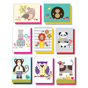Pack of 8 Assorted Greetings Cards