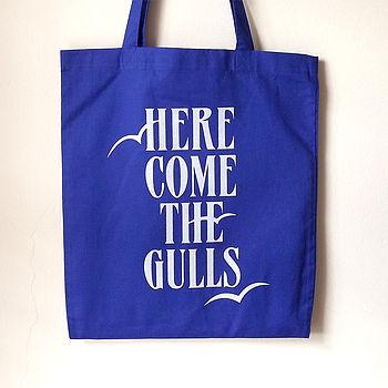 Seagulls tote bag - beach bag