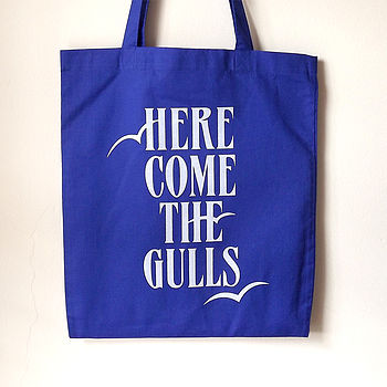 Seagulls tote bag - beach bag