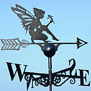 Fairy Steel Weathervane Made In Britain