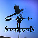 Pheasant Steel Weathervane Made In Britain