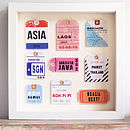 Personalised Travel Tags