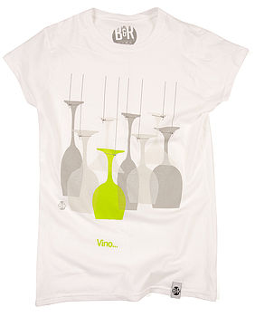 Women's Vino Design T Shirt