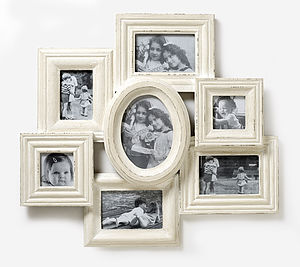 Shabby Chic Cluster Photo Frame - picture frames