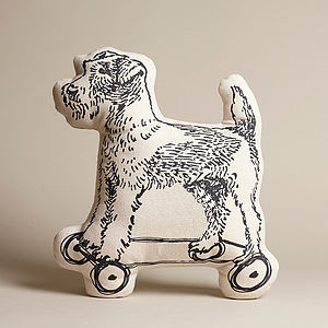 Bertie On Wheels Cushion - cushions