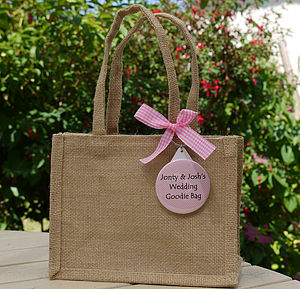 Personalised Wedding Gift Bag & Keyring - shop by category