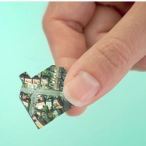 Personalised Our House Aerial View Jigsaw