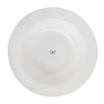 Solo Butterfly And Dots China Pasta Bowl