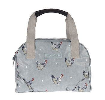 Chicken Oilcloth Stamford Bag