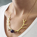 Antlers Necklace
