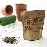 Field Poppy Seed Bomb Kit - garden