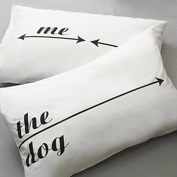 Set Of Two Dog Hogger Pillowcases