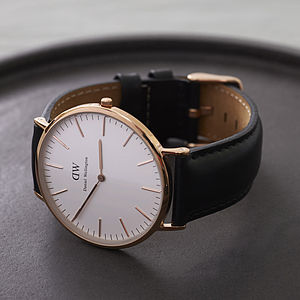 St Andrew's Watch - rose gold jewellery