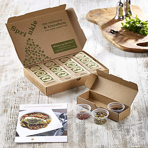 Four Month Recipe Discovery Kit Subscription - gifts for him