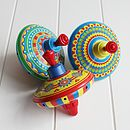 Colourful Tin Spinning Top