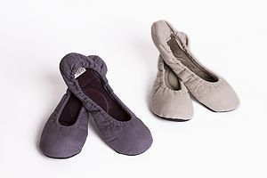Linen Slippers - loungewear