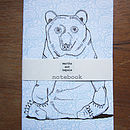Mr Brown Bear Notebook