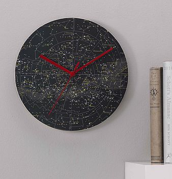 Stars And Constellations Clock