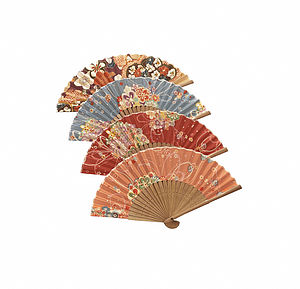 Japanese Kimono Fan - children's parties