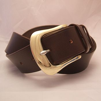 Handmade Golf English Leather Belt