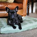 Marlow Stripes Cushion Dog Bed