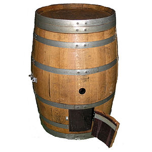 Wine Barrel Chicken Coop Or Animal House