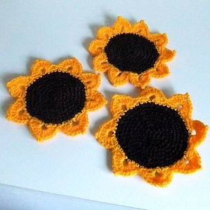Sunflower Coaster - placemats & coasters