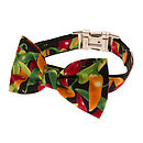 Chilli Bow Tie Dog Collar
