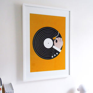 Music Business Graphic Art Print