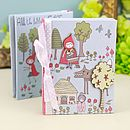Once Upon A Time Red Riding Hood Notebook