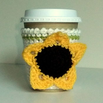 Sunflower Vending Cup Cosy