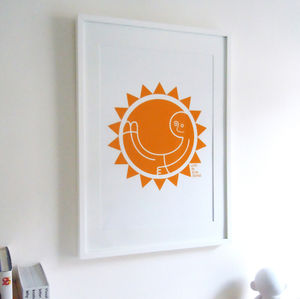 'Live In Sunshine' Graphic Art Print - contemporary art