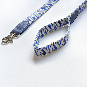 Designer Dog Leads With Geometric Pattern - dogs