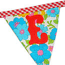Make Your Own Bunting Letters Small Size