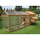 Backyard Poultry House And Run