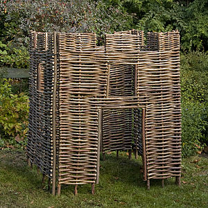Hazel Child's Castle - garden structures