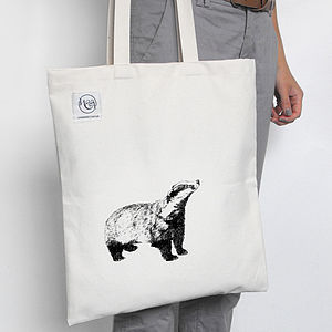 Badger Tote Bag