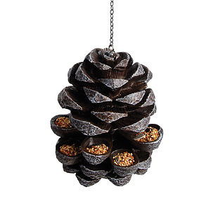Pinecone Birdfeeder - gifts for the garden