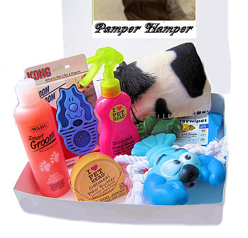 Dog Pamper Hamper For Boys