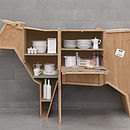 Wooden Cow Sideboard