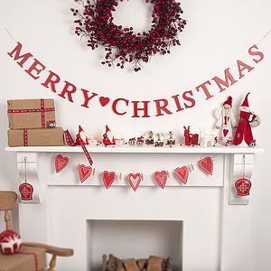 Merry Christmas Garland - shop by price
