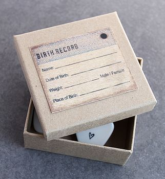 Birth Record Box