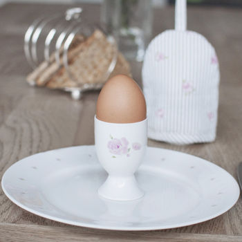 Rose China Egg Cup