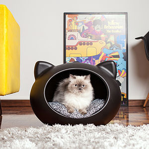 Cat Bed/Cave/Pod/House Guisapet L45 X W51 X H36 Cm