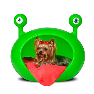 Monster Cave Pet Bed - dogs