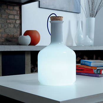 Labware Cylinder Table Floor Lamp