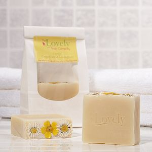 Grapefruit & Lemongrass Handmade Natural Soap - bath & body