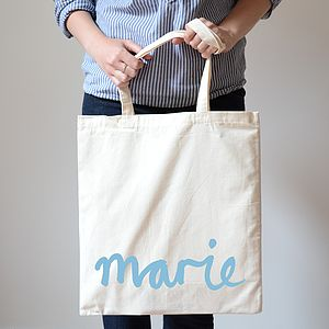 Custom Name Canvas Bag - shop by price
