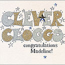 Personalised Sparkling Congratulations Cards